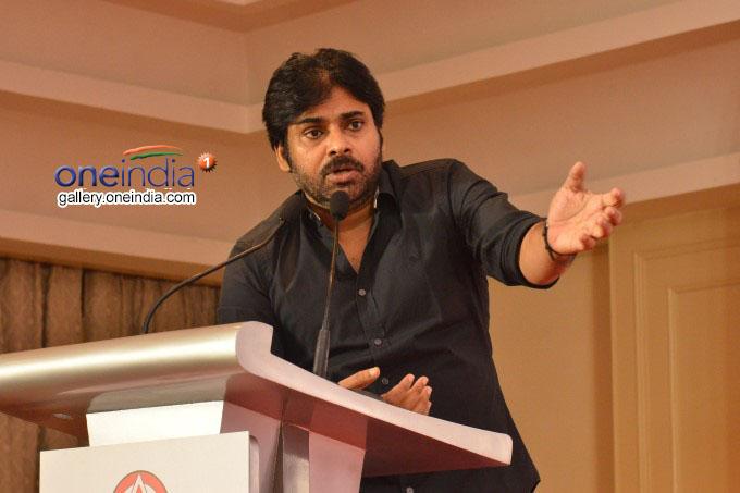 JanaSena Chief Pawan Kalyan Press Meet In Chennai