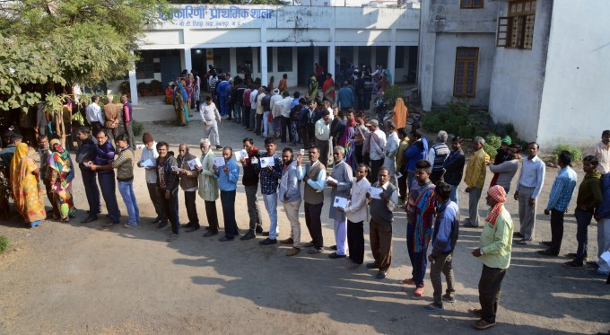 Assembly Elections Polling In Madhya Pradesh