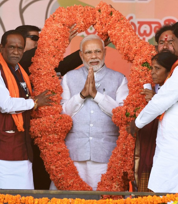 BJP Party Election Campaign In Telangana 2018