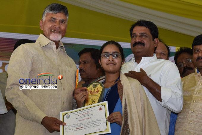 AP CM Chandrababu Naidu Addresses Jnana Bheri Programme At Ongole