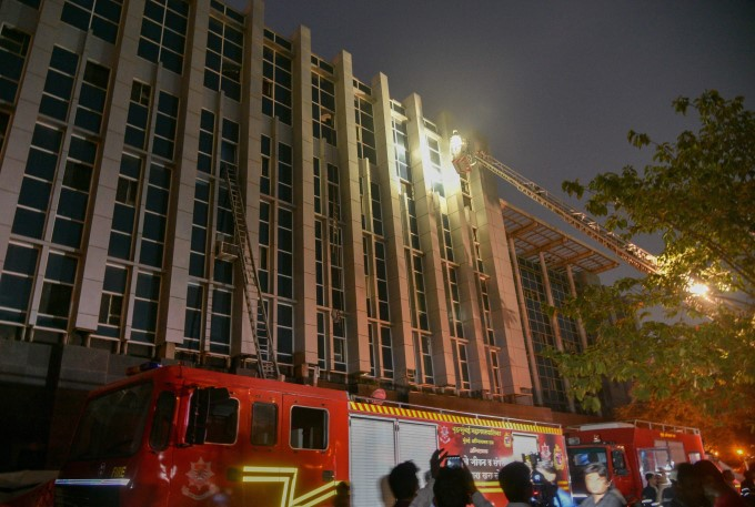 Fire Broke Out At ESIC Kamgar Hospital In Mumbai