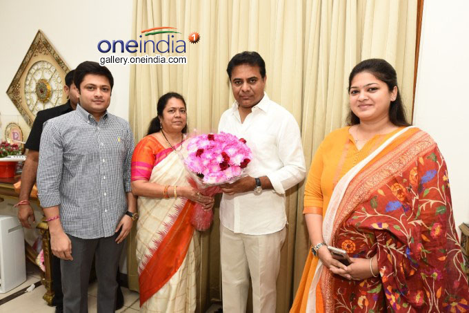 KT Rama Rao Appointed TRS Working President