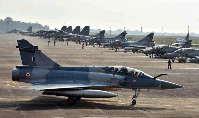 US-India Air Force Bilateral Joint Exercise At Kalaikunda Airbase In West Bengal