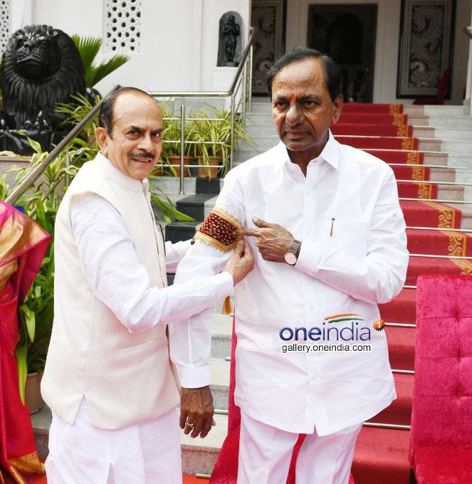 K Chandrashekar Rao Takes Oath As Telangana CM