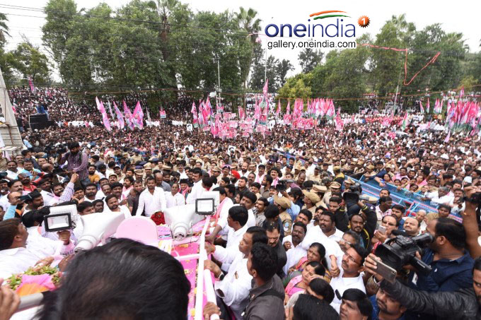 KT Rama Rao Takes Charge As TRS Working President