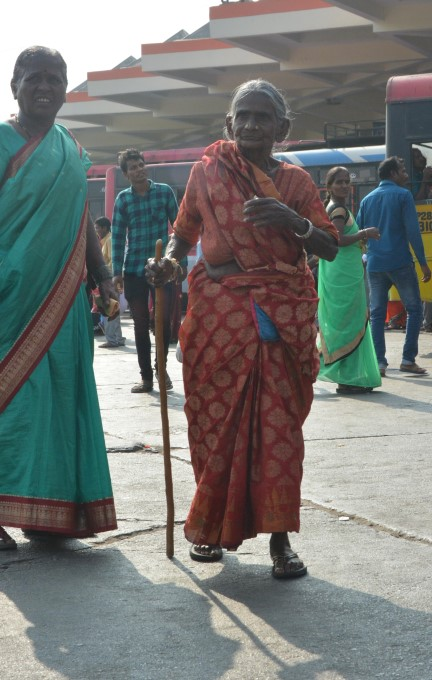People Rush To Villages For Telangana Polling