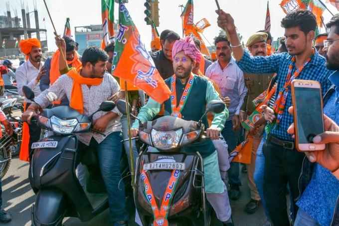 BJP Party Election Campaign In Rajasthan 2018
