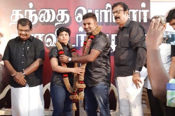 Udumalaipettai Kowsalya - Shakthi Marriage Photos