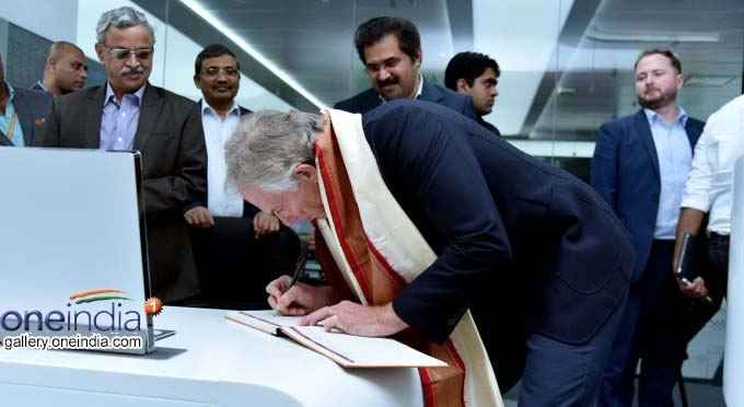 Former Britain PM Tony Blair Visits Amaravati