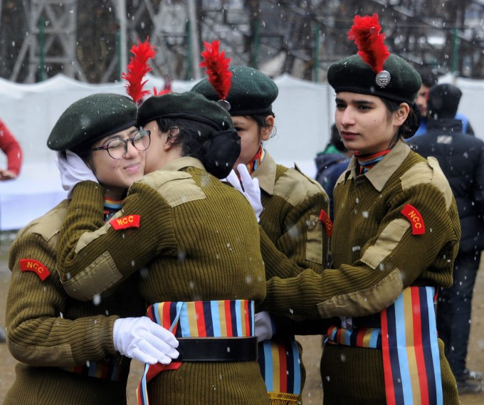 Rehearsals For Republic Day Parade (2019)