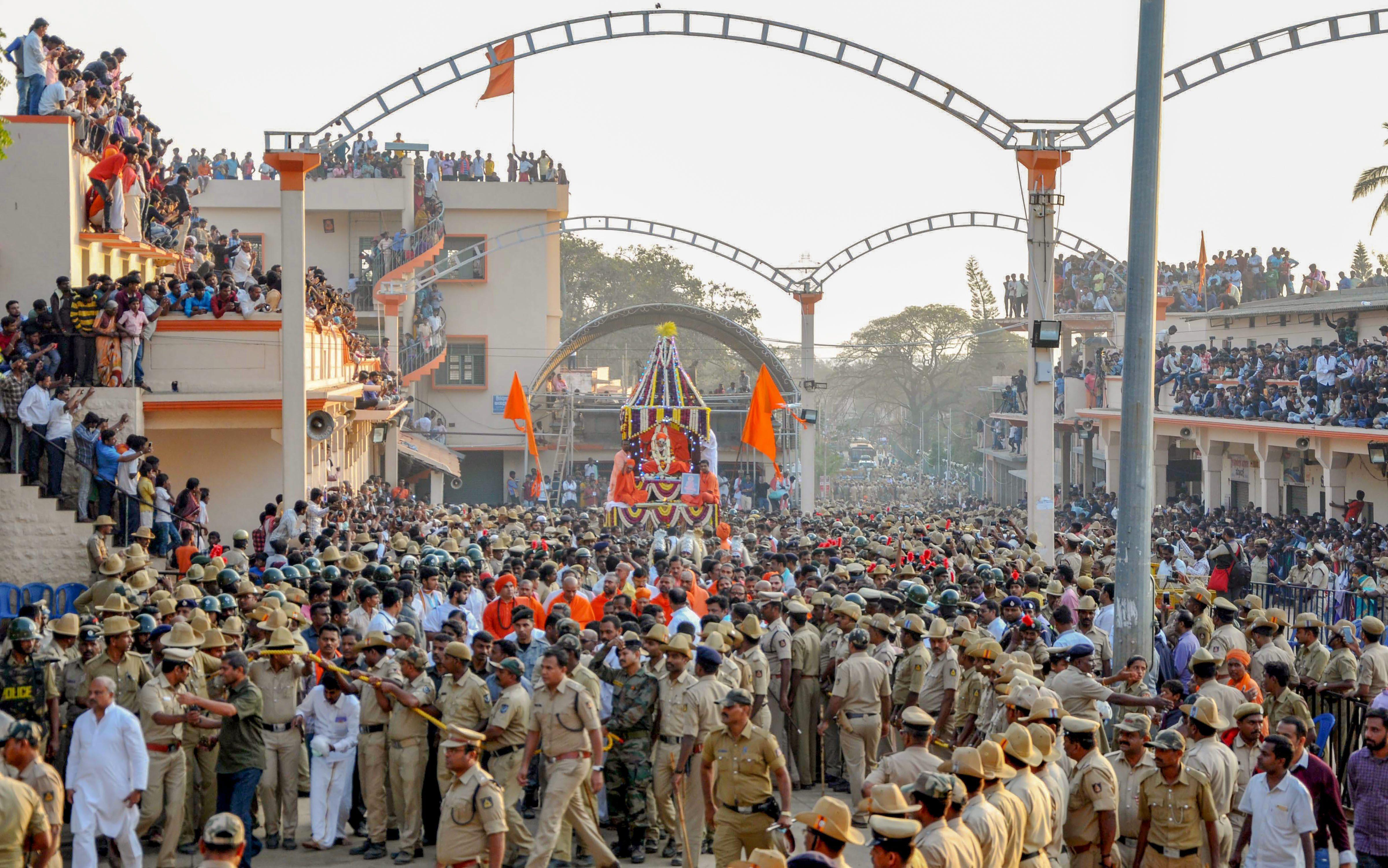 Shivakumara Swamiji Passes Away