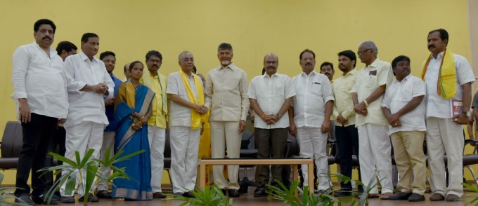 Former Union Minister Kishore Chandra Deo Joins In TDP