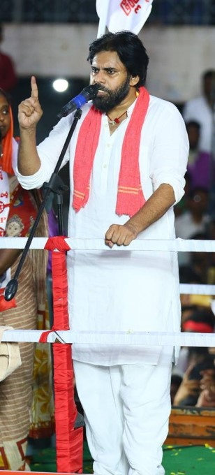 JanaSena Party Public Meet At Kurnool