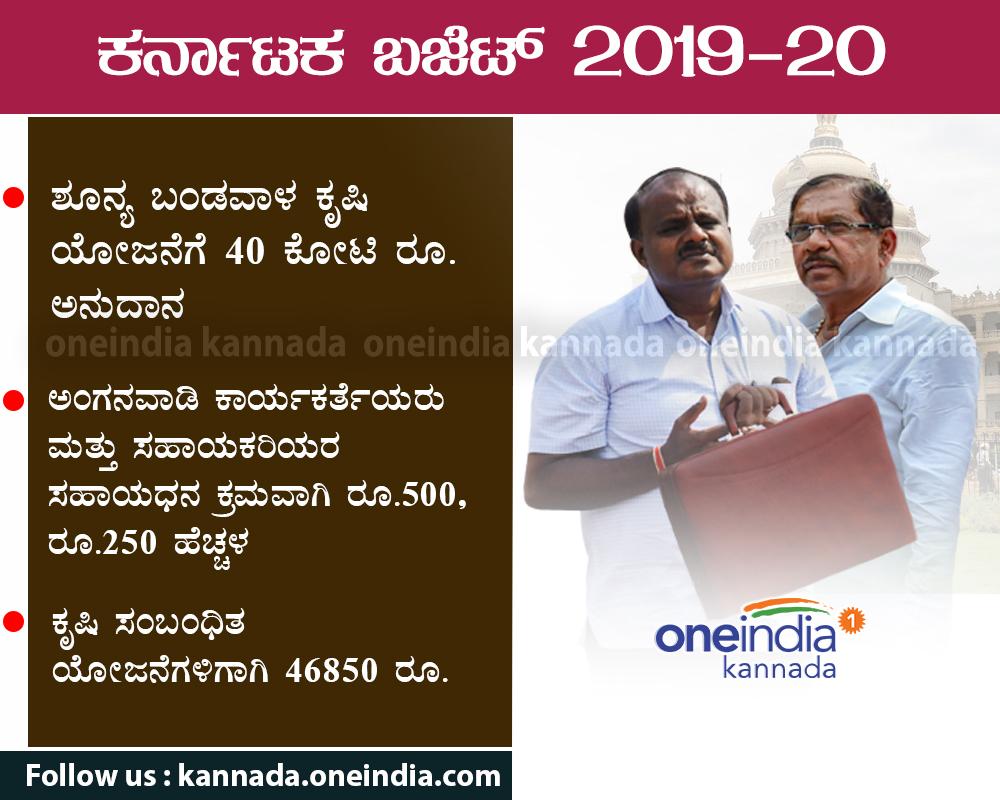 Karnataka Budget 2019-20