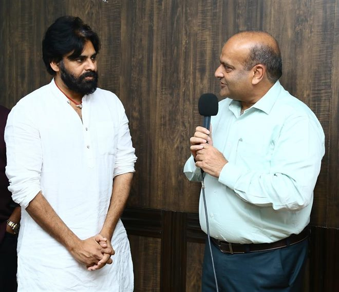 KV Vishnu Appointed As Janasena Party Advisory Chairman