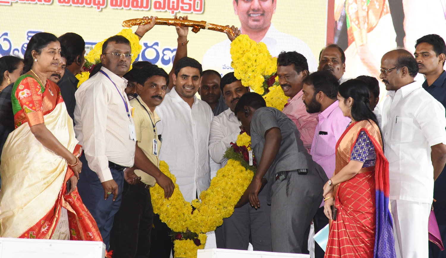Nara Lokesh NREGA One Day Workshop At IG Stadium