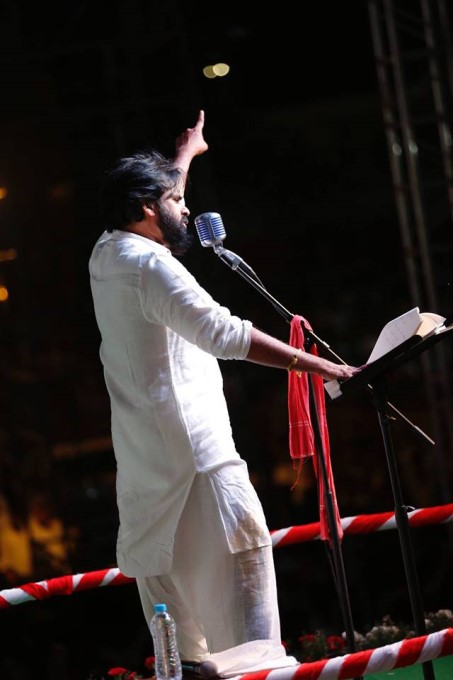 Jana Sena Party Lok Sabha Election Campaign