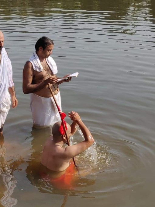 An Engineering Graduate, Successor Of Udupi Puttige Mutt Sugunendra Thirtha Seer