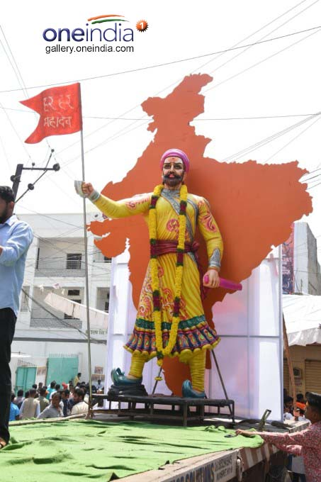 Sri Rama Navami Shobha Yatra In Hyderabad