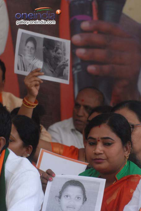Telangana Opposition Parties Protest Against Intermediate Board In Hyderabad