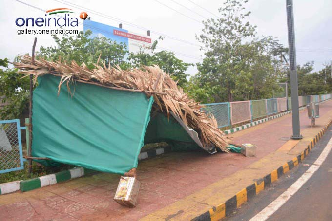 Cyclone Fani Effect In Visakhapatnam