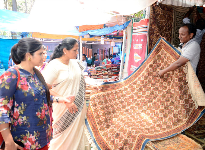 Shobha Karandlaje Inaugurated Bengaluru Utsava At Chitrakala Parishath