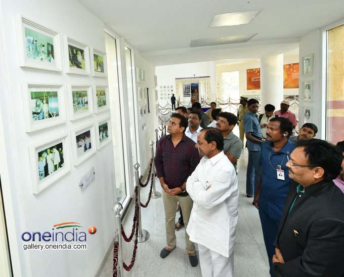 Telangana CM KCR Pays Tribute To APJ Abdul Kalam In Rameswaram