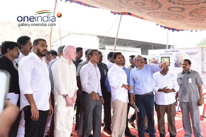 AP CM YS Jagan Mohan Reddy Visits Polavaram Project