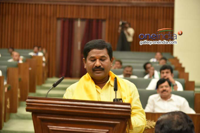 Andhra Pradesh MLAs Takes Oath In Assembly