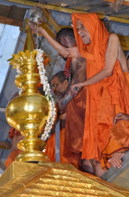 Glimpse Of Pictures Of Suvarna Gopura Dedication Celebration At Sri Krishna Mutt, Udupi