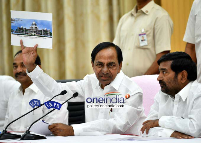 Telangana To Have New Assembly And Secretariat Buildings