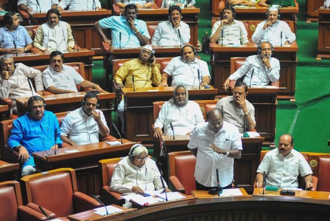 Karnataka CM BS Yediyurappa Wins Trust Vote In Assembly