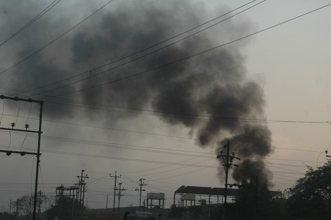 Air Pollution In Raipur