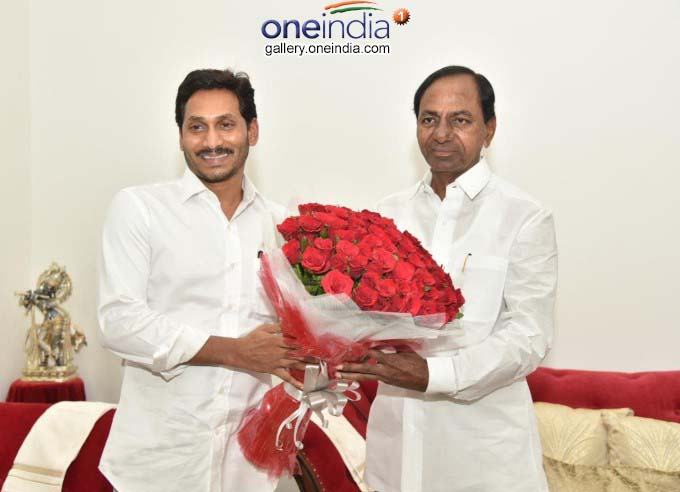 AP CM Jagan Mohan Reddy Meet Telangana CM KCR And Governor ESL Narasimhan