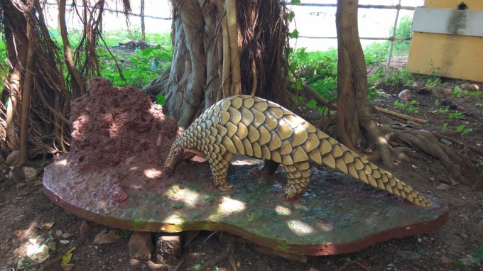 Puducherry Wildlife Sculptures