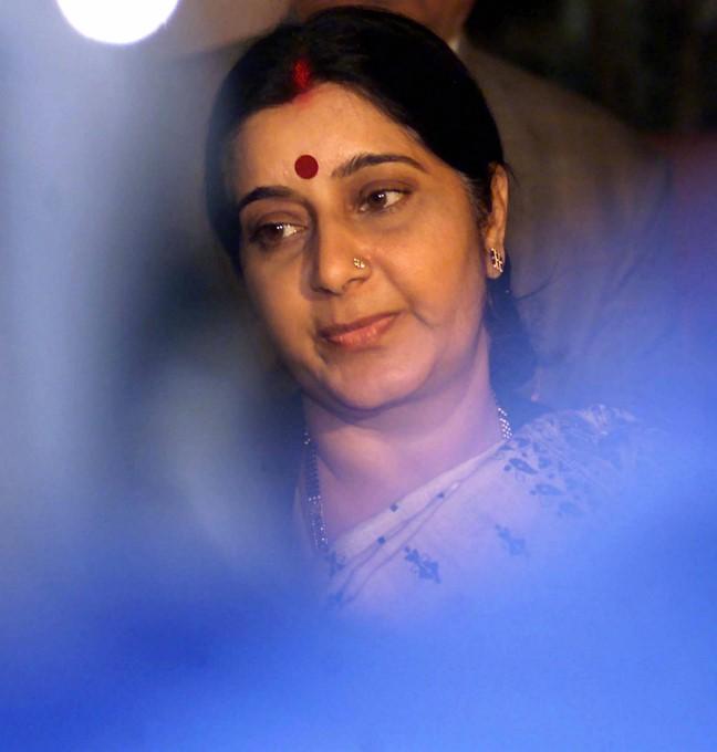 Rare Pics Of Sushma Swaraj