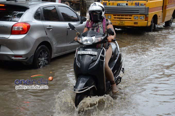 Heavy Rains Lashes In Telangana