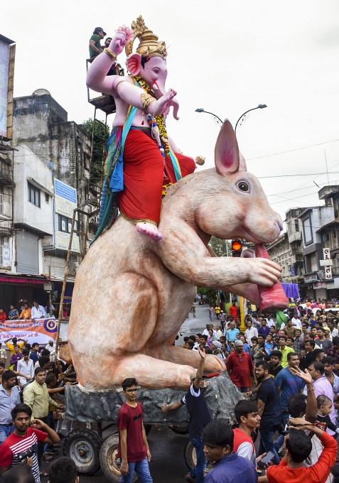 Ganesh Chaturthi Celebration Across India 2019