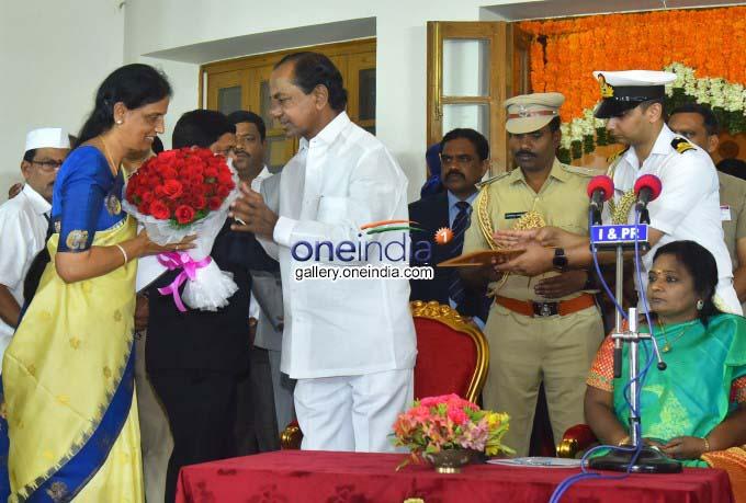 Telangana CM K Chandrasekhar Rao Expands Cabinet