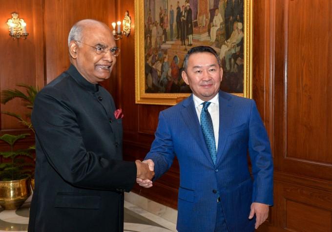 Mongolian President Khaltmaagiin Battulga 5 Day Visit To India