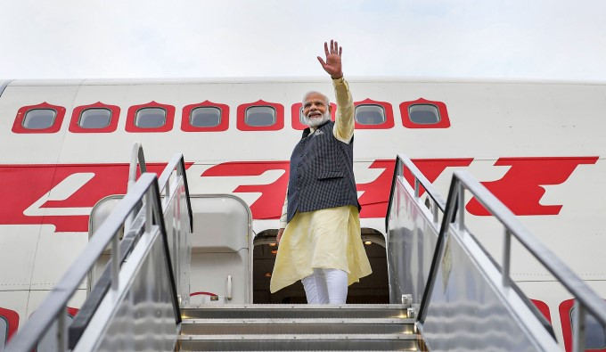 PM Narendra Modi At Howdy Modi In Houston