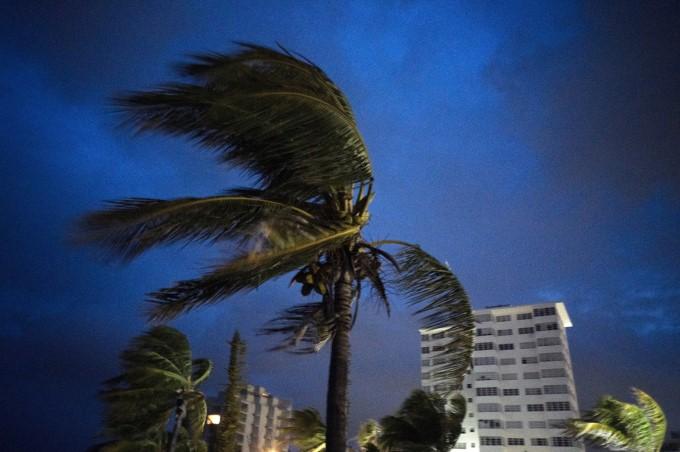 Hurricane Dorian Slams Into The Bahamas