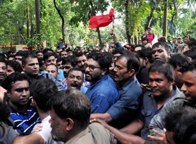 Students Protest At Jadavpur University In Kolkata