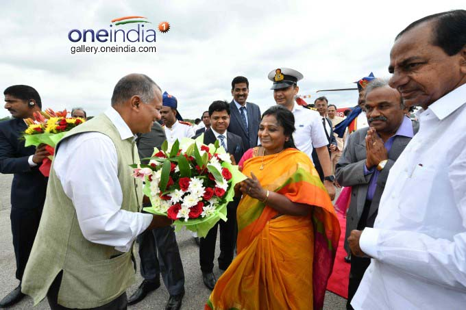 Tamilisai Soundararajan Sworn In As Telangana Governor