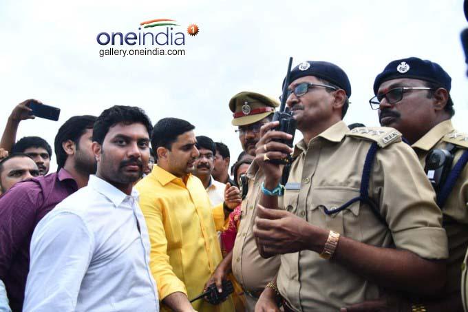 Chalo Atmakur Protest In Guntur