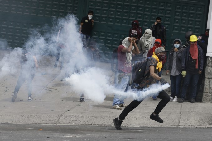 Thousands Of Protesters Staged Anti-Government Rallies In Ecuador