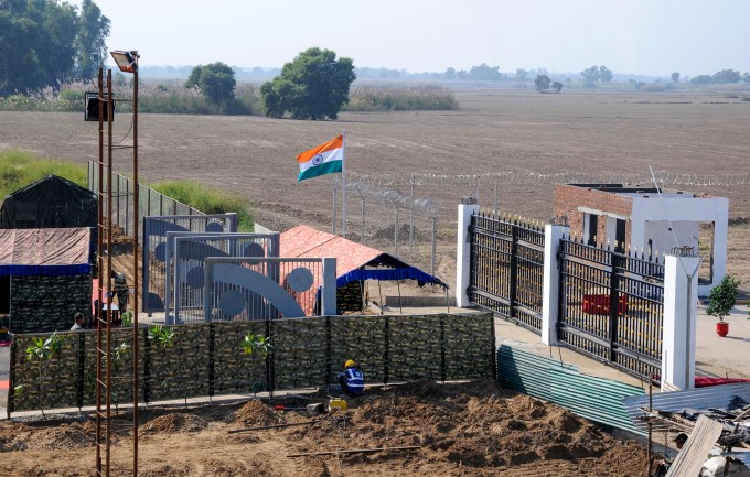 Kartarpur Corridor Construction Work Underway