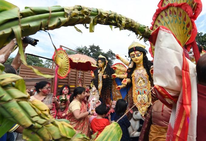 Durga Puja Festival 2019 Celebrations Across India