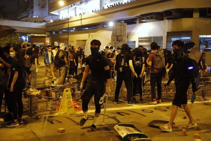 Hong Kong Protests Erupted Into Violence
