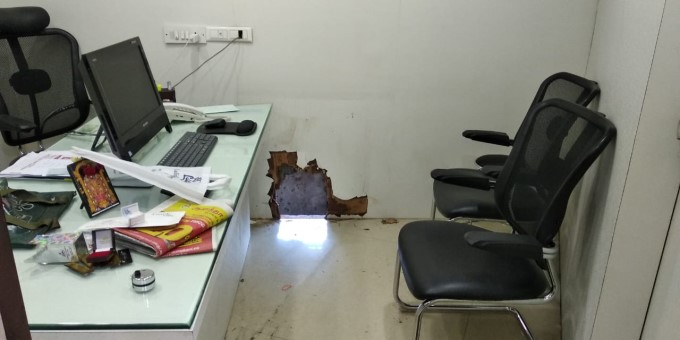 Robbery At Lalitha Jewellery Showroom In Trichy